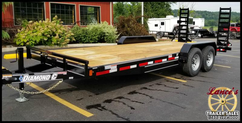 "2018 Diamond C Trailers REQ 20' ""Working Man's"" Equipment Trailer"