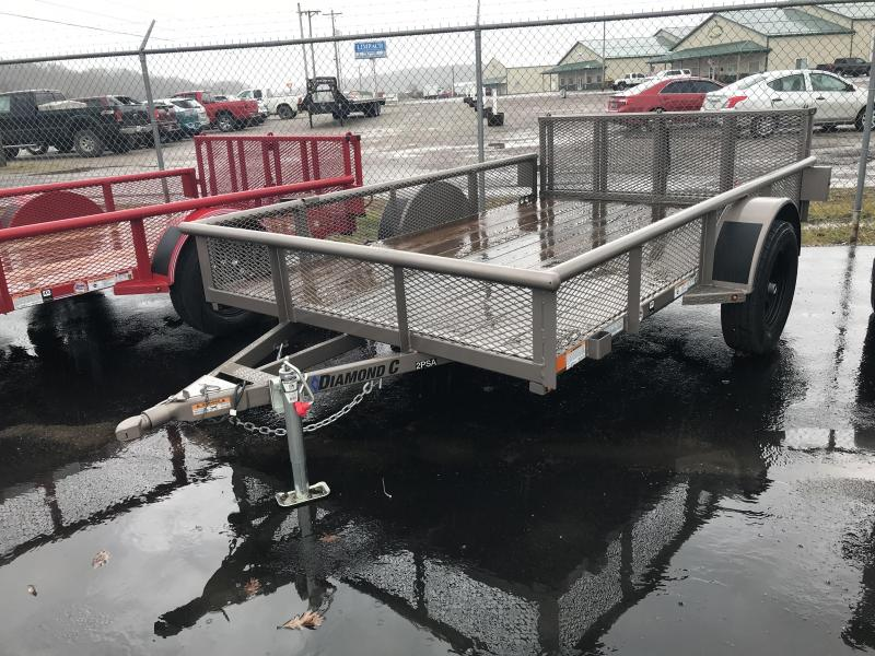 "2018 Diamond C 2PSA 77""x10' Utility Trailer J1200501"
