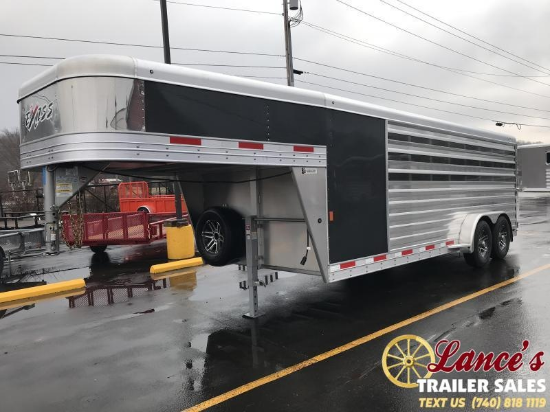 2019 Exiss Exhibitor 20' Low Pro Gooseneck Show Trailer w/ Air Gaps K5072053