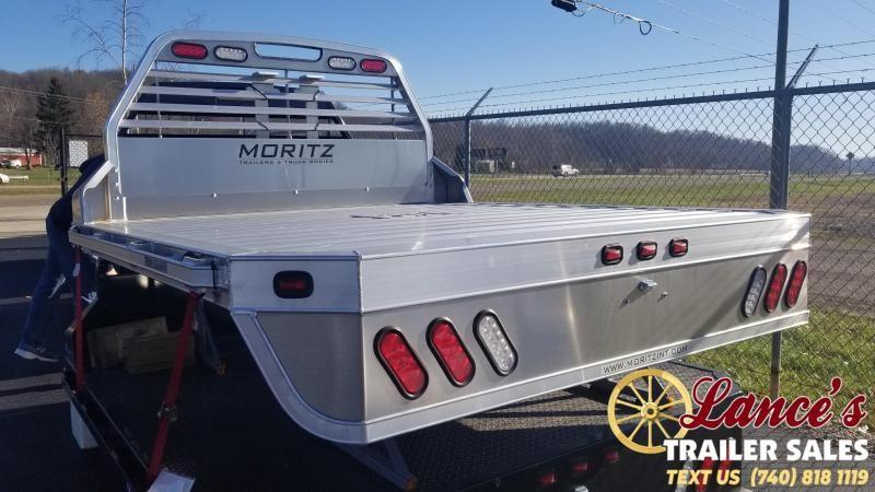 2019 Moritz 8'Wx8'6L (Dually) Aluminum Truck Bed