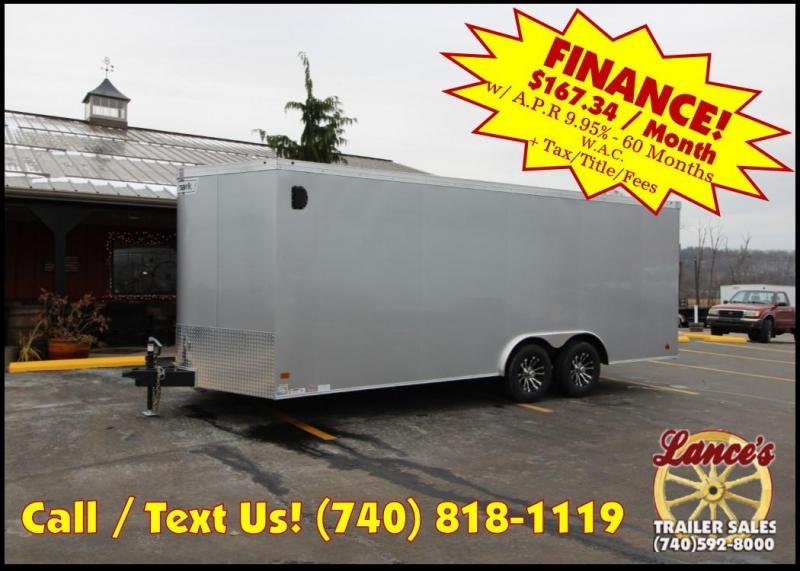 2019 Haulmark Transport 8.5' x 20' Enclosed Car Hauler KH000358