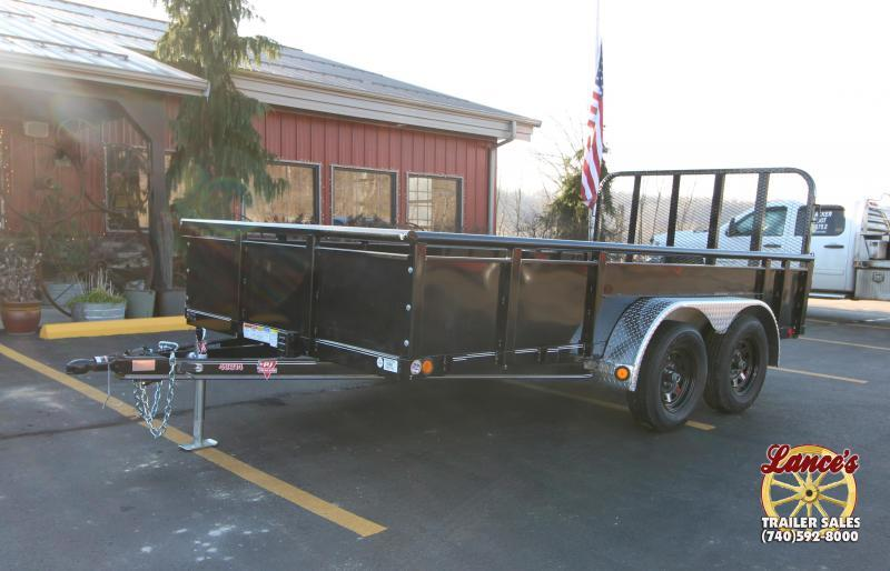 "2019 PJ 83""x14' Solid Side Utility Trailer K2591030"