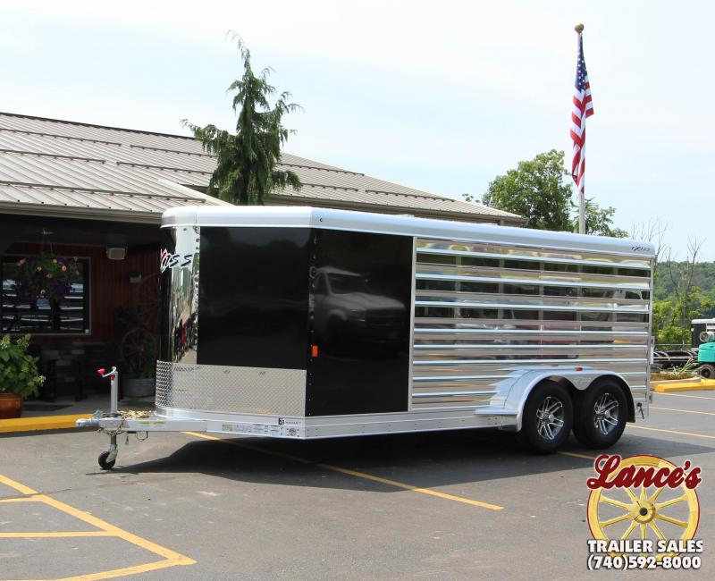 2019 Exiss Exhibitor 16' Livestock Trailer w/ Air Gaps K5071097