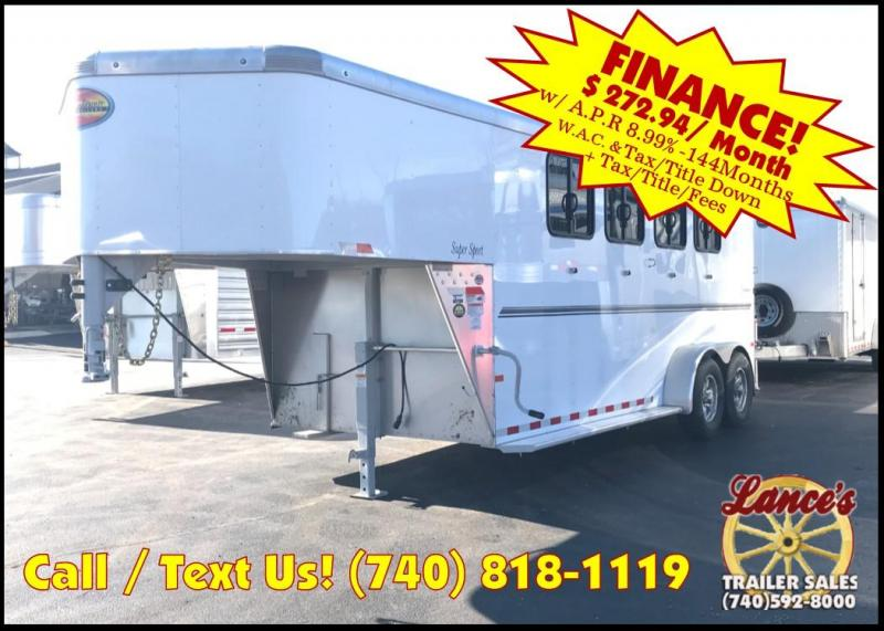 2019 Sundowner Super Sport 4 Horse Trailer L1KB7979