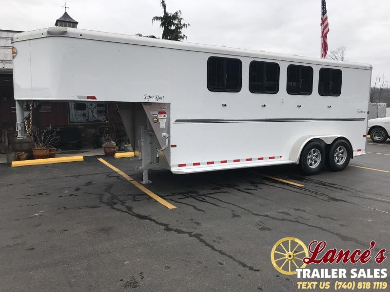 2020 Sundowner Super Sport 4 Horse Trailer L1KB7979