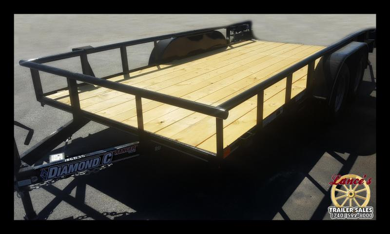 2018 Diamond C RUL 7'x14' Utility Trailer