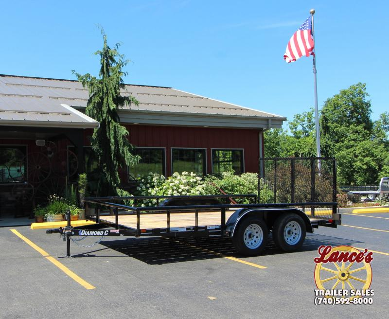 "2018 Diamond C Ranger 83""x14' Utility Trailer"