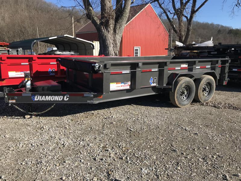 "2019 Diamond C 82""x14' Dump Trailer K1207551"