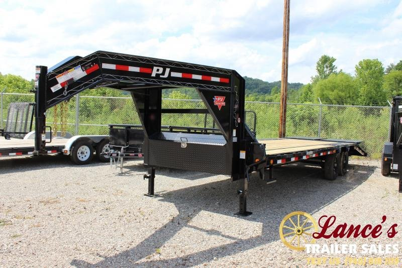 2020 PJ 20+5 GN Equipment Trailer