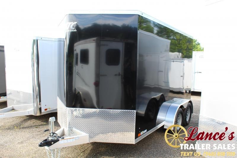 2020 ATC 7'x12'x6' Enclosed Cargo Trailer