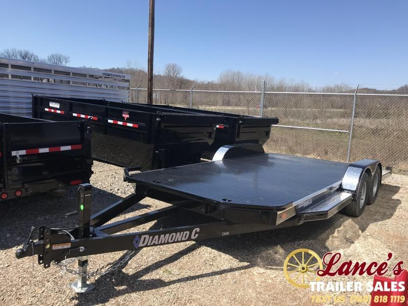 "2019 Diamond C 82""x18'  - OPEN Car Hauler K1212469"