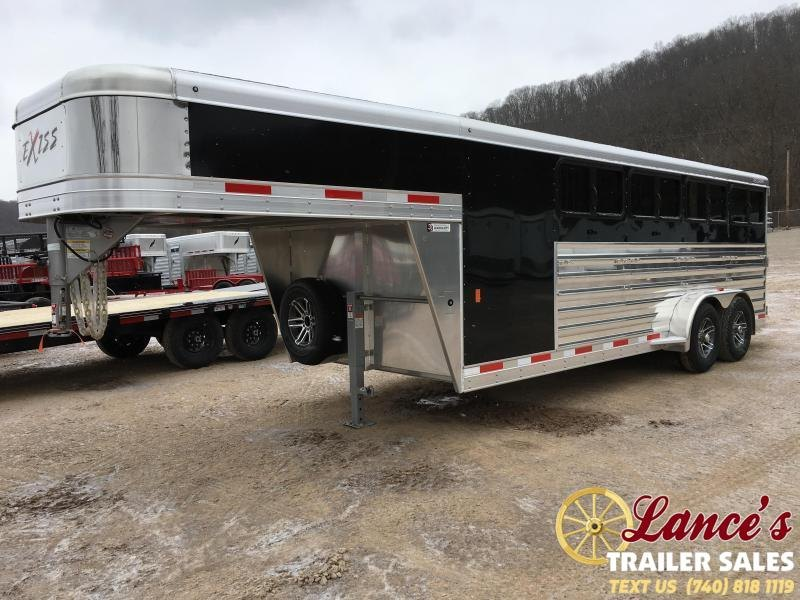 2019 Exiss Exhibitor 20' Low Pro Show Gooseneck Trailer w/ Windows K5071229
