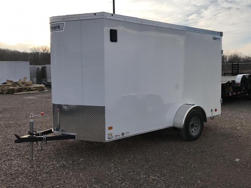 2019 Haulmark Transport 6'x12' Single Axle Cargo Trailer KH000687