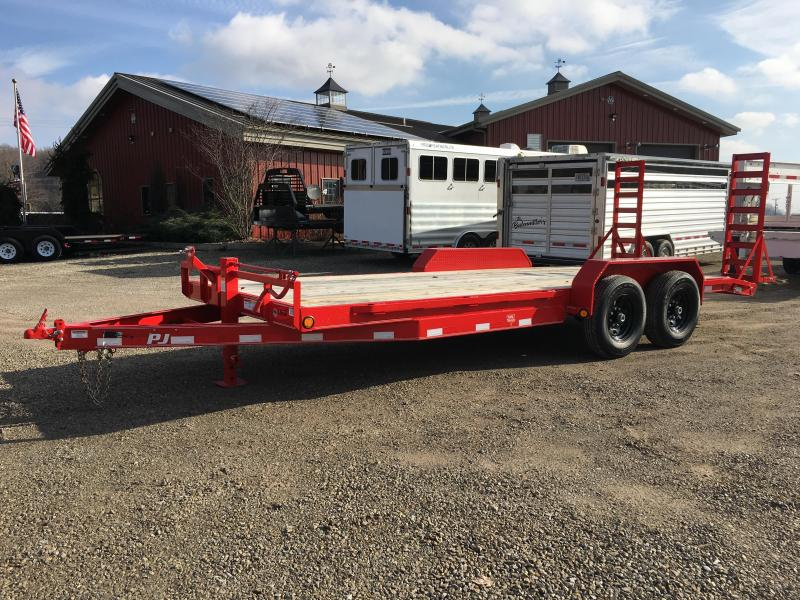 "2019 PJ 83""x20' 6"" Channel Open Car Hauler K3036233"
