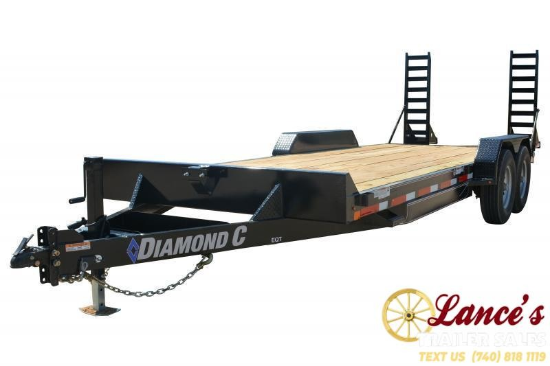2019 Diamond C Trailers EQT207L24X82 Equipment Trailer