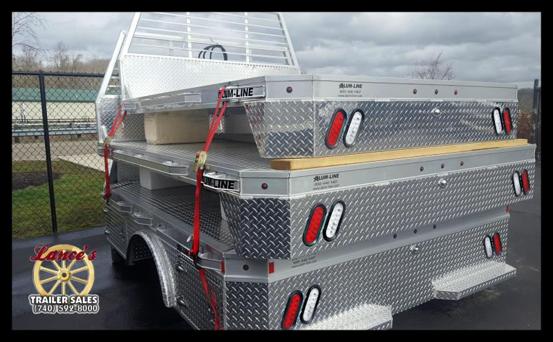 "2017 Alum-Line 94""x111"" (Dually) Truck Bed"