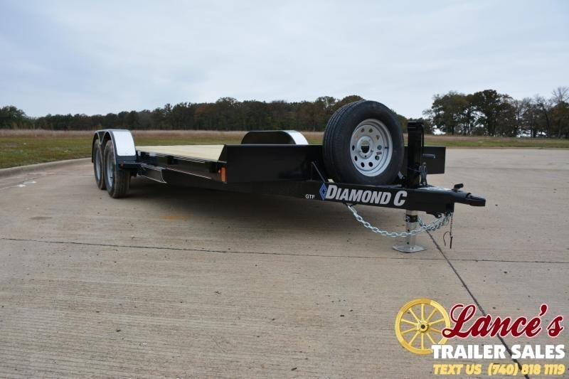 "2019 Diamond C Trailers 20'x82"" Open Car Trailer"
