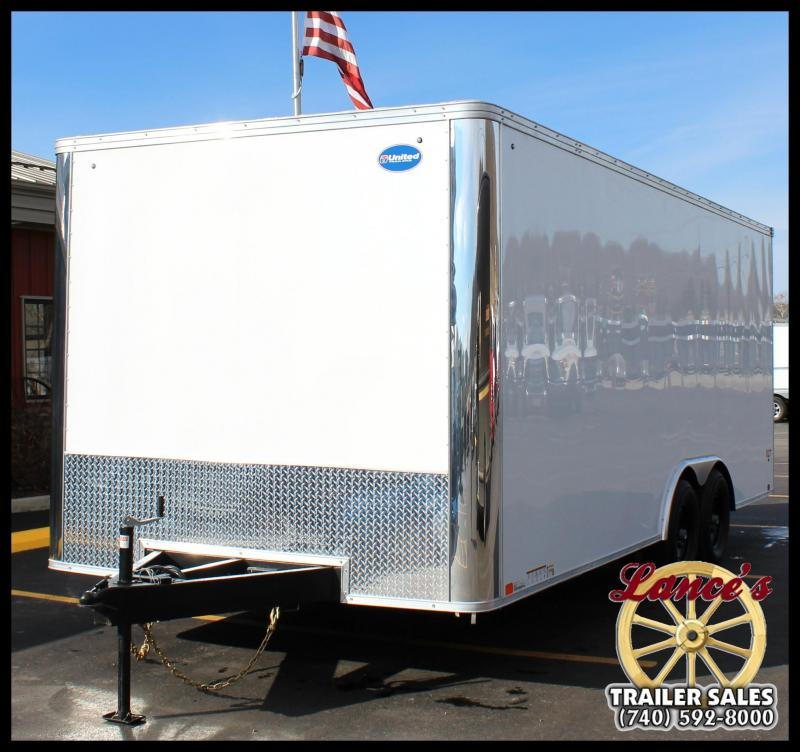 "2018 United Trailers XLT-8'5""x20' Car Hauler"