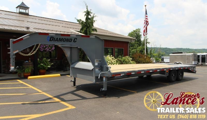 2019 Diamond C 20+5 Equipment Trailer