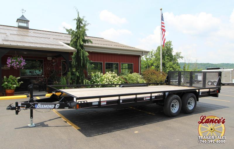 2018 Diamond C  47MD 20'  Mid-Deck Equipment Trailer