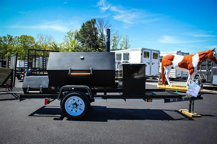 2018 Carry-On Smoker Grill Trailer JG023686
