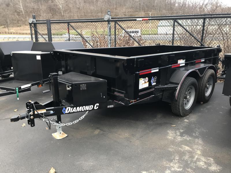 "2018 Diamond C 60""X10' Dump Trailer J1200452"