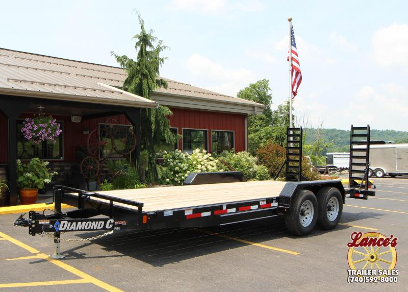 "2019 Diamond C 82""x20' Equipment Trailer J1199032"
