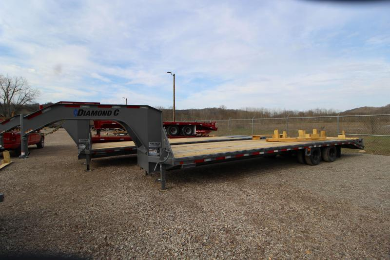 2018 Diamond C Trailers FMAX210 32' Equipment Trailer