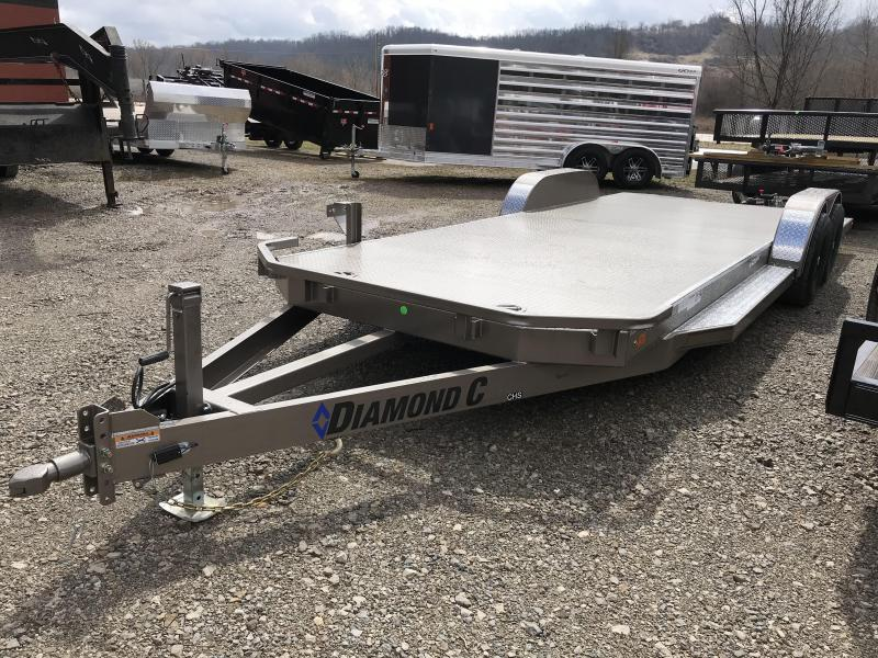 "2019 Diamond C 82""x22'  OPEN Car Hauler K1212470"
