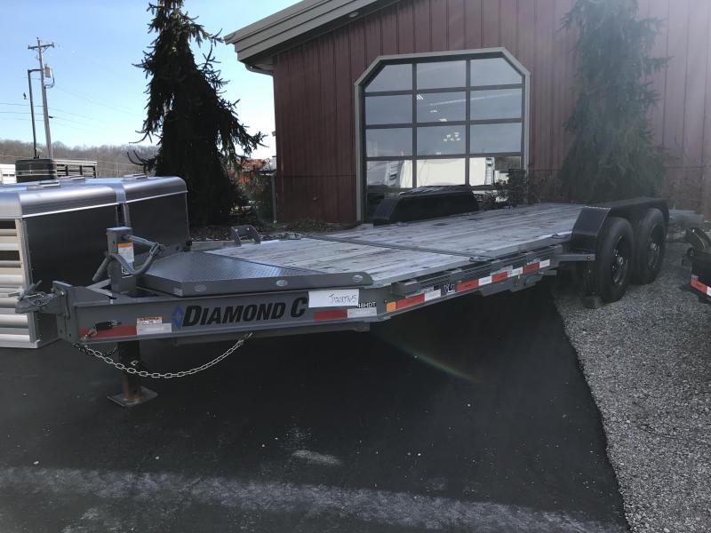 """2018 Diamond C 82""""x20' Heavy Duty Tilt Equipment Trailer J1200765"""