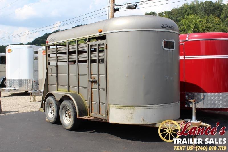 2006 Delta 12' Livestock Trailer