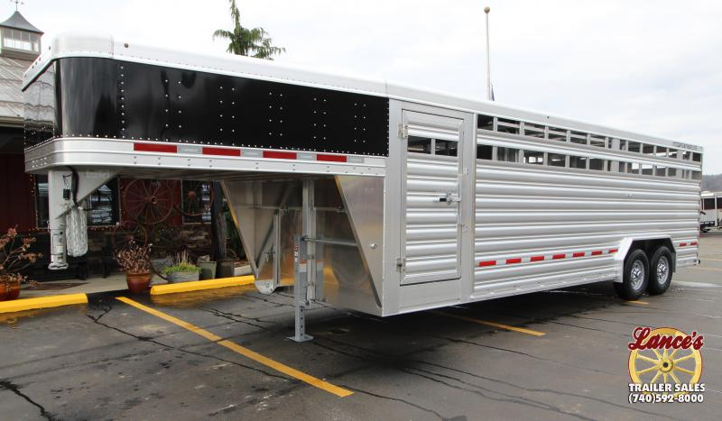 2019 Featherlite 8'x24' Show Cattle Trailer KC151477