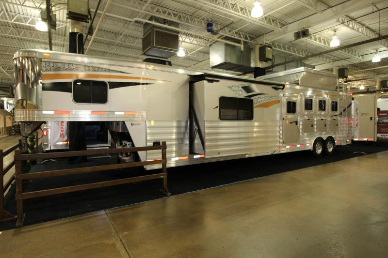 2019 Exiss Endeavor 8416 LQ 4 Horse Trailer