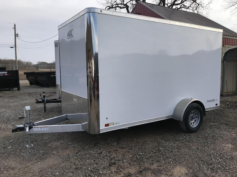2019 ATC Raven 6'x12' Single Axle Cargo Trailer KC217454