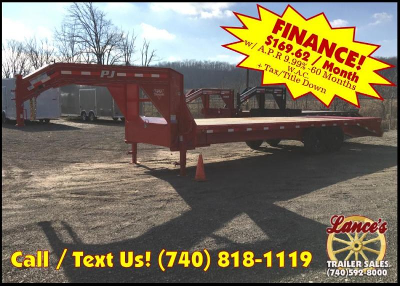 "2019 PJ 102"" x 25' Equipment Trailer K3036359"