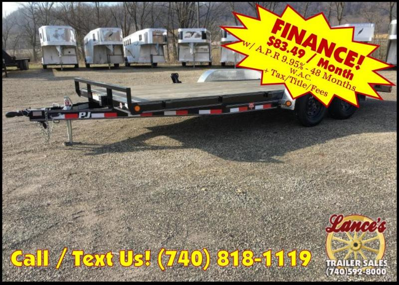"2019 PJ 83""x18' 5"" Channel Open Car Hauler K2591044"