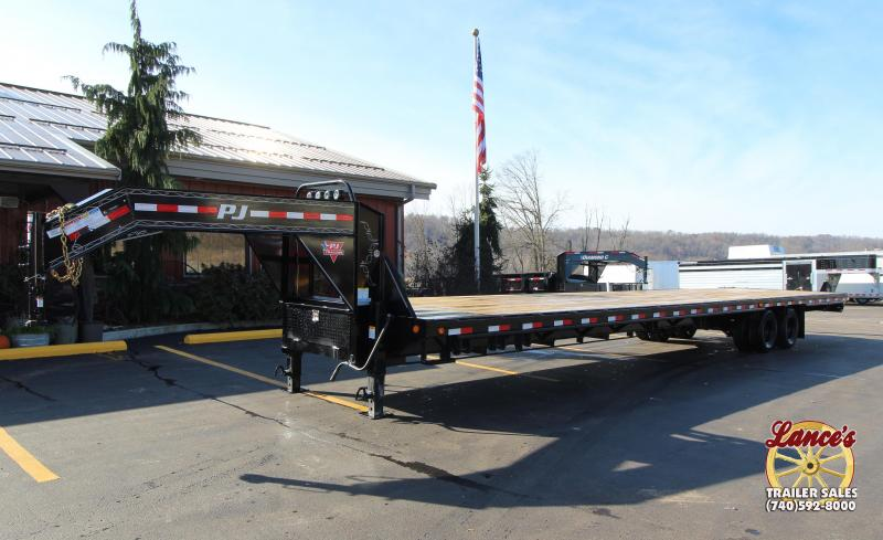 "2019 PJ 40' ""Hot Shot"" Flatdeck Trailer"
