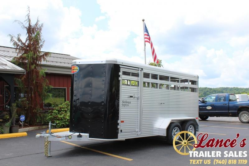 2020 Sundowner Stockman 16' Livestock Trailer