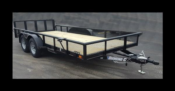 "2017 Diamond C ""6GT"" 16' Utility Trailer"