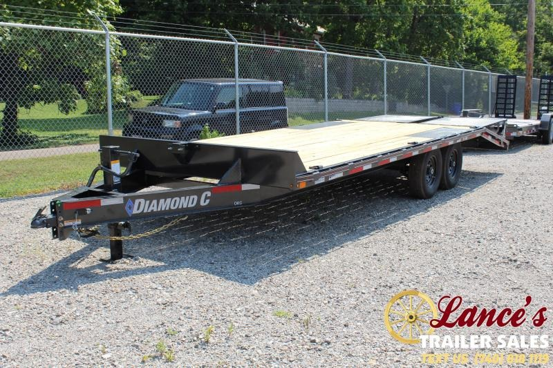 2019 Diamond C 22' Equipment Trailer
