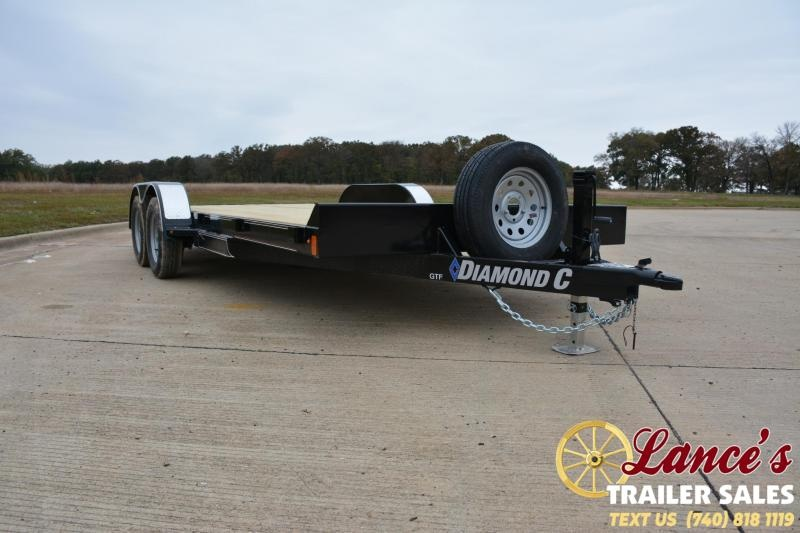 2019 Diamond C Trailers GTF235L20X83 OPEN CAR TRAILER Car / Racing Trailer