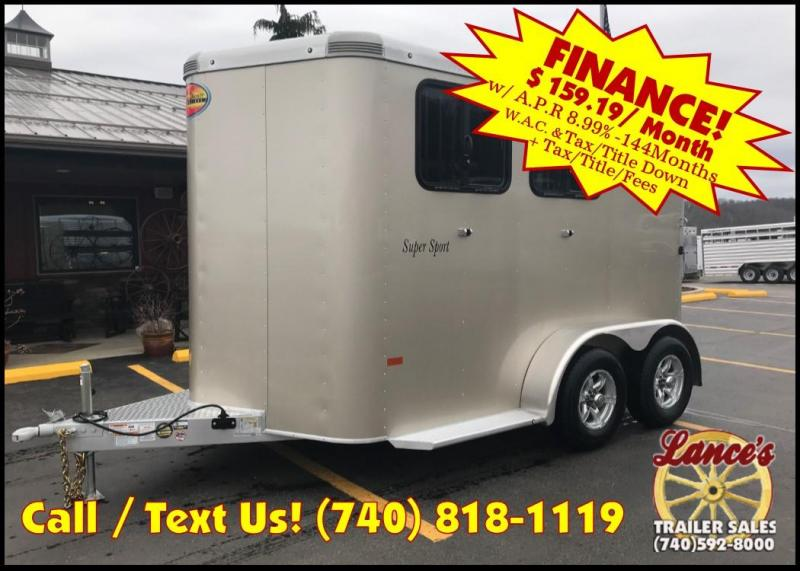 2019 Sundowner Super Sport 2 Horse Trailer L1KB7975