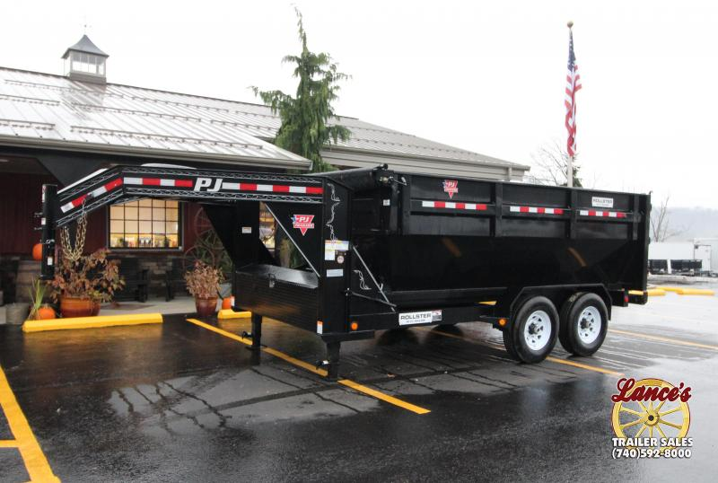 2019 PJ Trailer Roll Off Dump Bed and Trailer