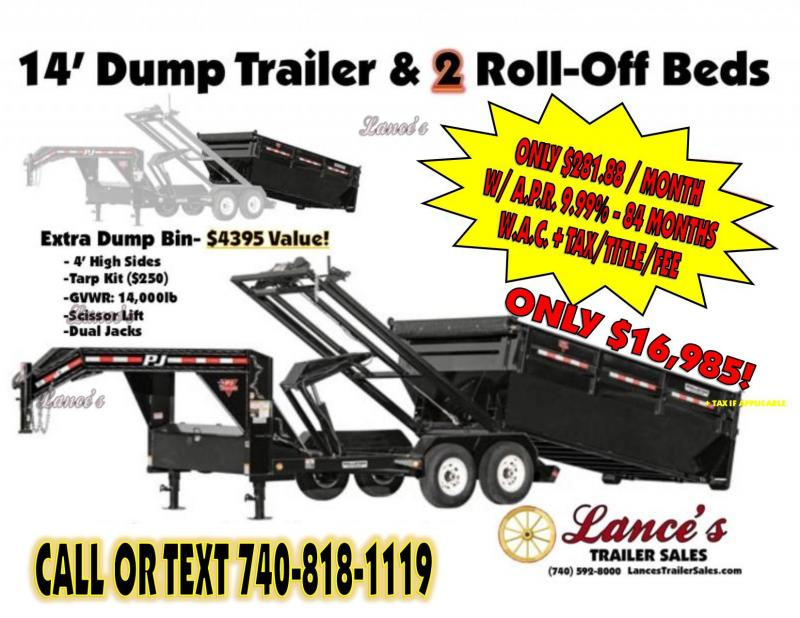2019 TRAILER - DUMP -ROLLOFFS -2-ROLLOFFS- K1306735-  SALE ENDS JUNE 15TH
