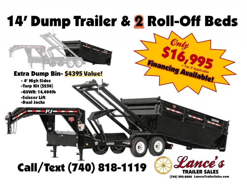 2019 TRAILER - DUMP -ROLLOFFS -2-ROLLOFFS- K1306735-  SALE ENDS MAY 15TH