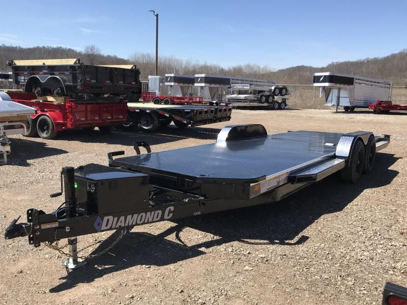 "2019 Diamond C 83""x22' Hydraulic Tilt Car Hauler K1212369"