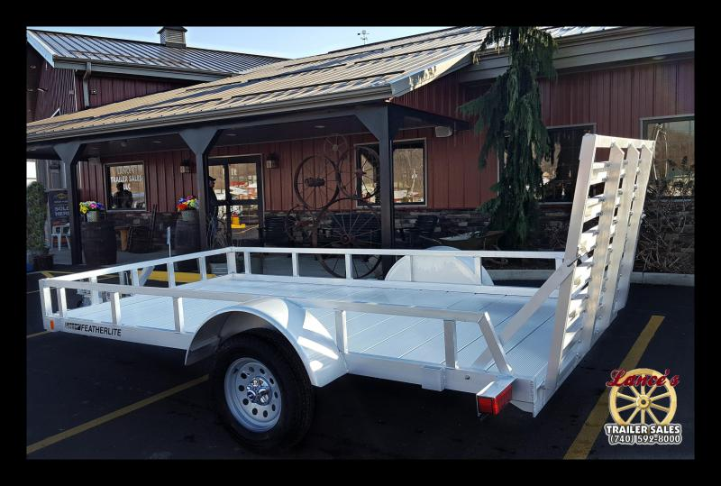 "2017 Featherlite ""1693"" 12' Utility Trailer"