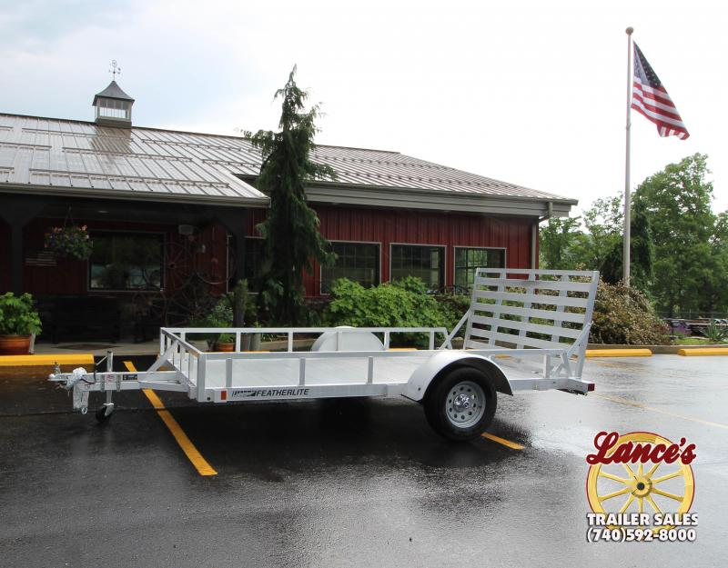 "2018 Featherlite ""1693"" 12' Utility Trailer"