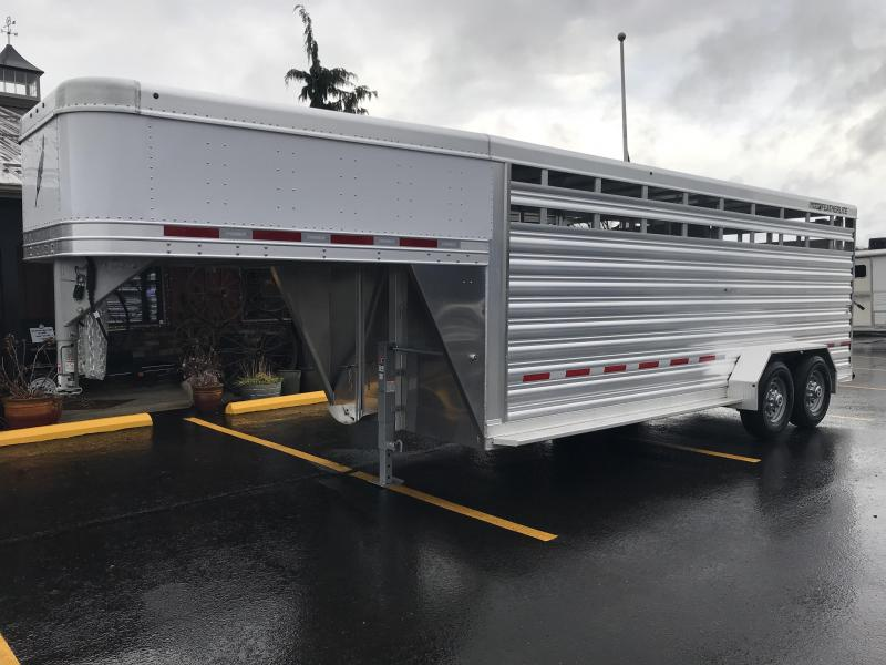 2019 Featherlite 8117 20' Livestock Trailer KC150981