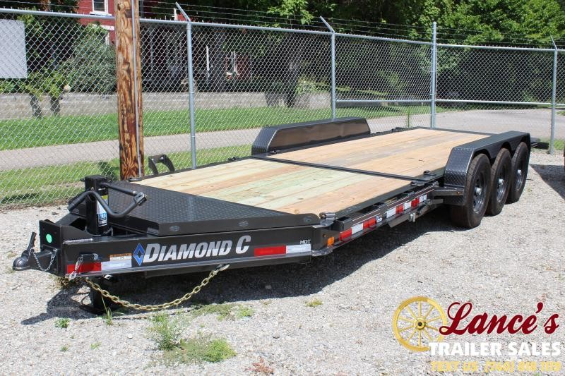 "2019 Diamond C 82""x22' HDT Tri-Axle Equipment Trailer"